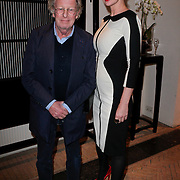 NLD/Amsterdam/20120202 - Lancering vernieuwde Talkies, jan en partner Monique des Bouvrie