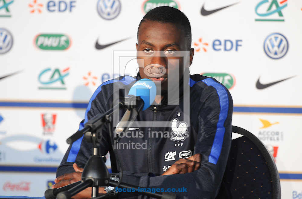 Blaise Matuidi speaks during France press conference at Alpenstadion, Neustift, Austria<br /> Picture by EXPA Pictures/Focus Images Ltd 07814482222<br /> 01/06/2016<br /> ***UK &amp; IRELAND ONLY***<br /> EXPA-SPI-160601-5004.jpg