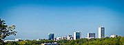 Greenville Skyline Panorama - Downtown Greenville, SC