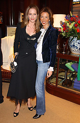Left to right, TRINNY WOODALL and HEATHER KERZNER at a party at Ralph Lauren, Bond Street, London in support of the NSPCC's Full Stop campaign on 21st March 2006.<br /><br />NON EXCLUSIVE - WORLD RIGHTS