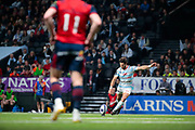 Maxime MACHENAUD (Racing Metro 92) scored a penalty, Keith Earls (Munster Rugby) during the European Rugby Champions Cup, Pool 4, Rugby Union match between Racing 92 and Munster Rugby on January 14, 2018 at U Arena stadium in Nanterre, France - Photo Stephane Allaman / ProSportsImages / DPPI