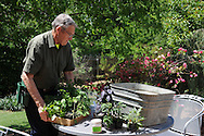 Ray Campbell demonstration on container gardening. A segment for Oklahoma Gardening. Growing vegetables in containers.