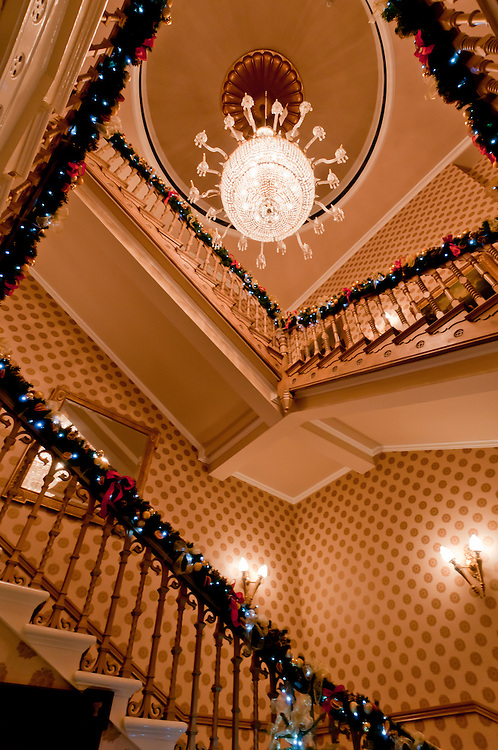 Hospitality and Interior Photography in Cheshire of the stunning Chester Grosvenor Hotel for Christmas