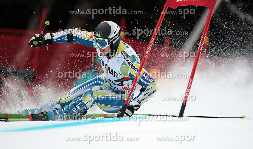 19/12/2010 ALPINE SKI WORLD CUP VAL GARDENA 2010 FIS SKI WELT CUP. .JAZBEC Janez of Slovenia .© Photo Pierre Teyssot / Sportida.com.