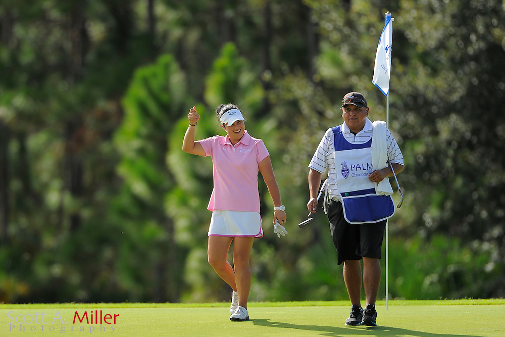 Lili Alvarez during the final round of the Symetra Tour Championship at LPGA International on Sept. 29, 2013 in Daytona Beach, Florida. <br /> <br /> <br /> &copy;2013 Scott A. Miller