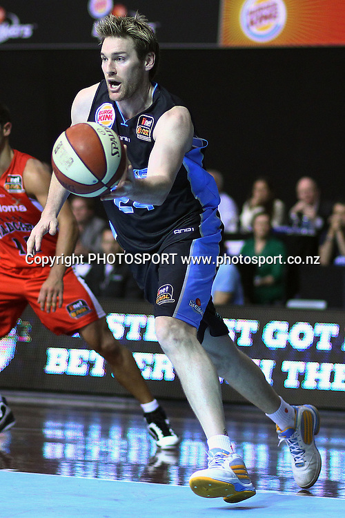 Breakers' Dillon Boucher in action. iinet ANBL, New Zealand Breakers vs Perth Wildcats, North Shore Events Centre, Auckland, New Zealand. Wednesday 20th October 2010. Photo: Anthony Au-Yeung / photosport.co.nz