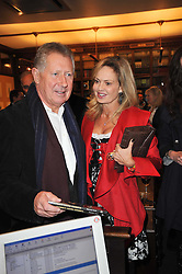 RICHARD NORTHCOTT and COUNTESS MAYA VON SCHONBURG at a party to celebrate the publication of Maryam Sach's novel 'Without Saying Goodbye' held at Sotheran's Bookshop, 2 Sackville Street, London on 10th November 2009.