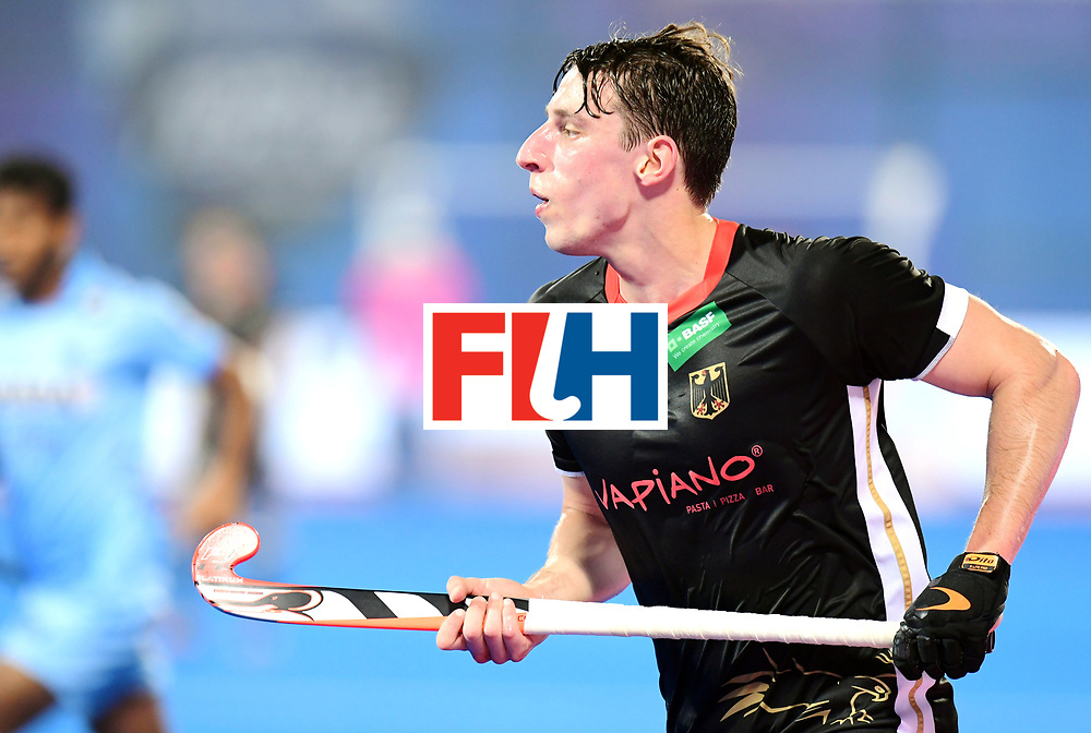 Odisha Men's Hockey World League Final Bhubaneswar 2017<br /> Match id:21<br /> India v Germany<br /> Foto: keeper Mark Appel (Ger) <br /> COPYRIGHT WORLDSPORTPICS FRANK UIJLENBROEK