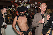 SYBIL ROUGE; LYALL HAKARAIA, Undressed: A Brief History of Underwear<br /> At the V&A , South Kensington. London. 13 April 2016