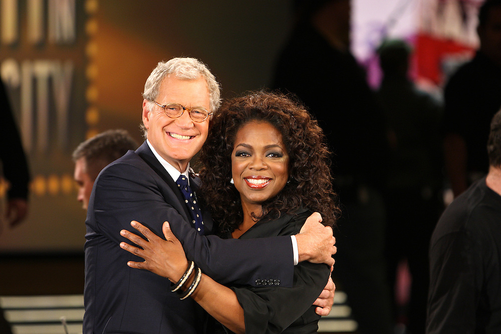 Oprah Show in New York for the premier of the 22nd season
