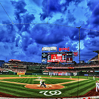 17 August 2012:  A 6 frame HDR image taken at Nationals Park in Washington, D.C. where the Washington Nationals defeated the New York Mets, 6-4.