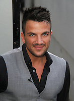 Peter Andre arrives at the Piccadilly Theatre to perform 'Unchained Melody' at the end of West End Musical GHOST for 'BBC Children in Need POP Goes the Musical', London, UK. 14 September 2011 Contact: Rich@Piqtured.com +44(0)7941 079620 (Picture by Richard Goldschmidt)