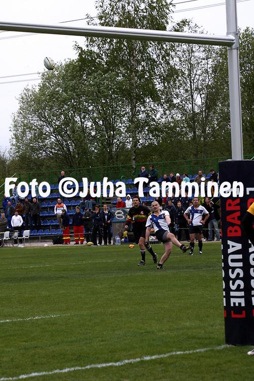 17.05.2008, Myllypuro, Helsinki, Finland.European Nations Cup rugby, group C. Finland v Bosnia-Herzegovina. ©Juha Tamminen