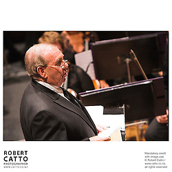 Ian Fraser at the NZSO 60th Anniversary Concert at Wellington Town Hall, Wellington, New Zealand.