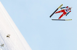 04.03.2017, Lahti, FIN, FIS Weltmeisterschaften Ski Nordisch, Lahti 2017, Skisprung Herren, Team, im Bild Simon Ammann (SUI) // Simon Ammann of Switzerland // during Mens Team Skijumping of FIS Nordic Ski World Championships 2017. Lahti, Finland on 2017/03/04. EXPA Pictures © 2017, PhotoCredit: EXPA/ JFK