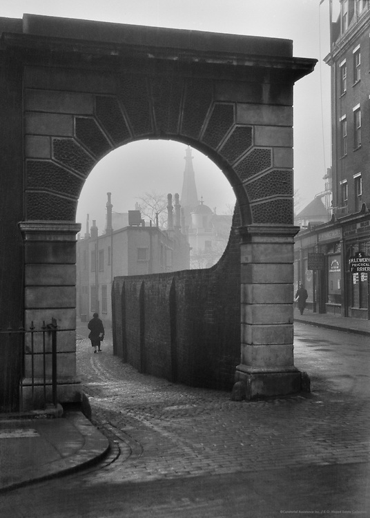 Gloucester Road Mews, London, 1927