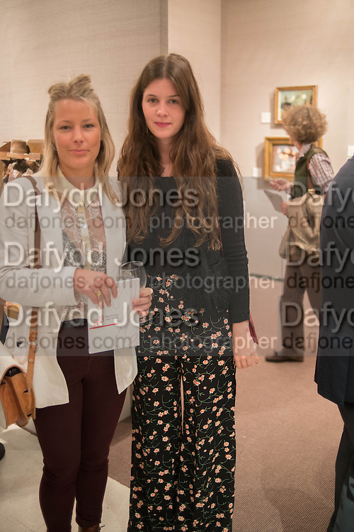 DAVINA HARBORD; ALEXANDRA CRONAN, 20/21 British Art Fair. Celebrating its 25 Anniversary. The Royal College of Art . Kensington Gore. London. 12 September 2012.