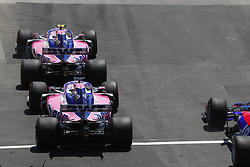 June 9, 2019 - Montreal, Canada - Motorsports: FIA Formula One World Championship 2019, Grand Prix of Canada, ..#18 Lance Stroll (CAN, Racing Point F1 Team), #11 Sergio Perez (MEX, Racing Point F1 Team) (Credit Image: © Hoch Zwei via ZUMA Wire)