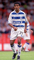 Richard Langley - QPR. Crystal Palace v Queens Park Rangers. Football League Division One, 20/08/2000. Credit: Colorsport / Matthew Impey.