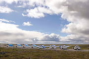 Peregrine Diamonds Mining Exploration Camp, Northwest Territories