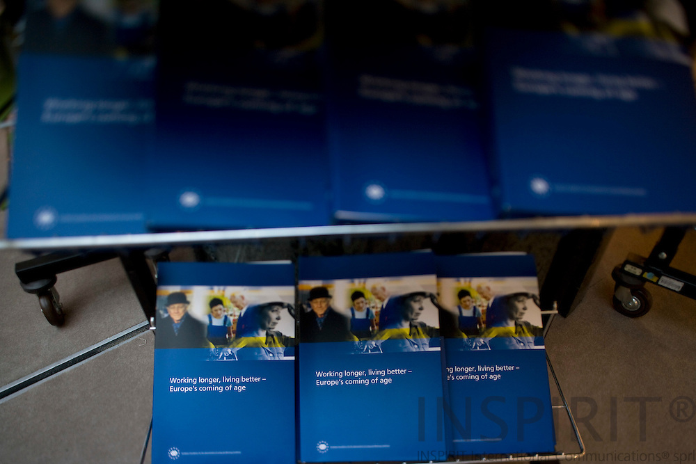 BRUSSELS - BELGIUM - 02 DECEMBER 2008 -- Eurofound Expo Week in the EP. Photo: Erik Luntang/INSPIRIT Photo