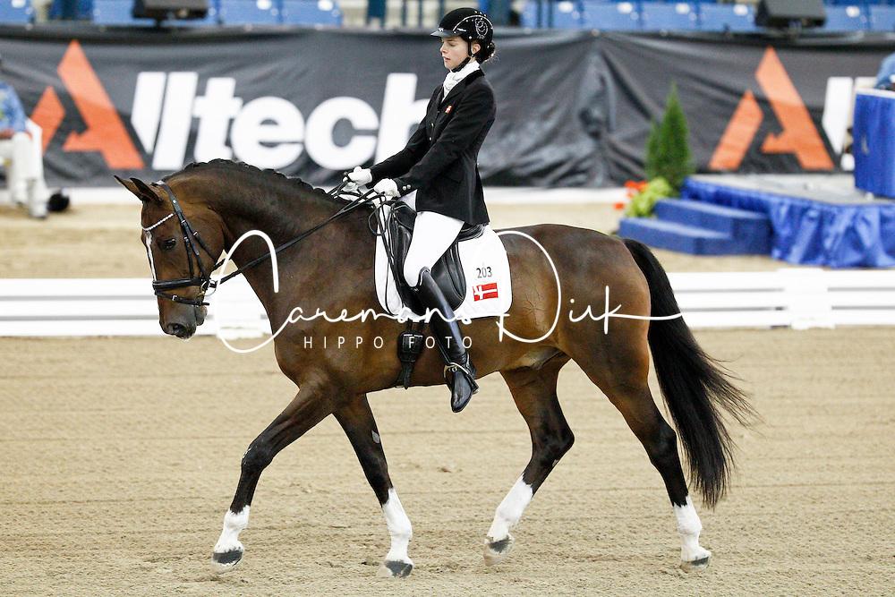 Nielsen Caroline Cecilie (DEN) - Rostorn's Hatim Tinn<br /> Alltech FEI World Equestrian Games <br /> Lexington - Kentucky 2010<br /> © Hippo Foto - Leanjo de Koster