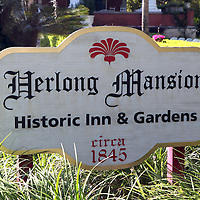 Herlong Mansion in the city of Micanopy along the Old Florida Heritage Parkway in Micanopy, Florida. (AP Photo/Alex Menendez) Florida scenic highway photos from the State of Florida. Florida scenic images of the Sunshine State.