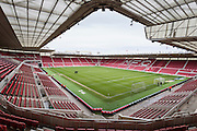 General view of Riverside Stadium before the Sky Bet Championship match between Middlesbrough and Nottingham Forest at the Riverside Stadium, Middlesbrough, England on 23 January 2016. Photo by George Ledger.