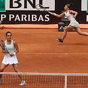 Roma 17/05/2018 Foro Italico<br /> Internazionali BNL d'Italia 2018<br /> doppio femminile <br /> Martina TREVISAN e Sara ERRANI