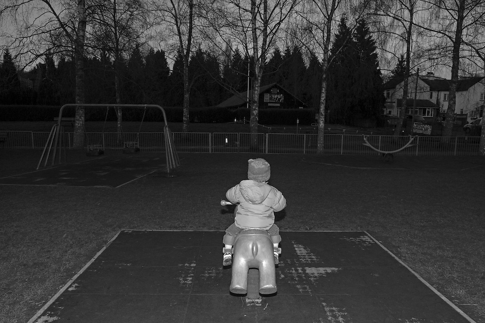 Joe plays at the local playground in Berkhamsted, England Tuesday, Feb. 17, 2015 (Elizabeth Dalziel) #thesecretlifeofmothers #bringinguptheboys #dailylife