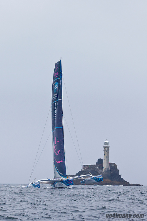 in the Rolex Fastnet Race to the famous lighthouse on the West Cork coastline....