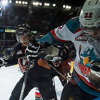 022815 Calgary Hitmen at Kelowna Rockets