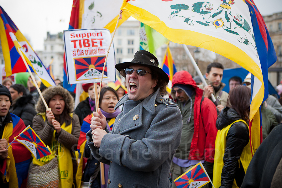 Free Tibet Protest, London, UK