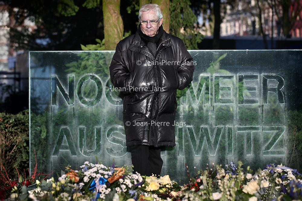 Nederland, Amsterdam , 4 februari 2014.<br /> Jaques Grishaver, Voorzitter Nederlands Auschwitz Comit&eacute;<br /> Foto:Jean-Pierre Jans
