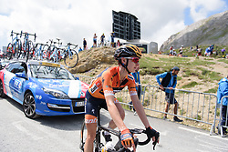 Megan Guarnier after La Course 2017 - a 67.5 km road race, from Briancon to Izoard on July 20, 2017, in Hautes-Alpes, France. (Photo by Sean Robinson/Velofocus.com)