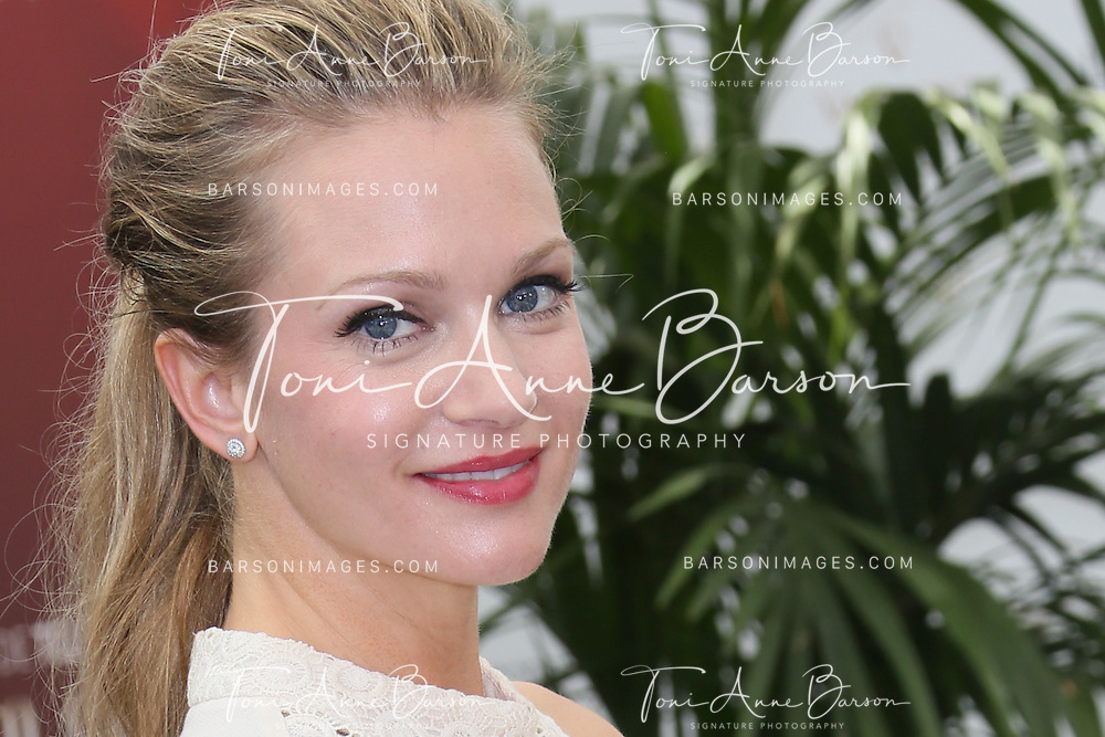 """MONTE-CARLO, MONACO - JUNE 09:  Andrea Joy Cook aka A.J. Cook attends """"Criminal Minds"""" photocall at the Grimaldi Forum on June 9, 2014 in Monte-Carlo, Monaco.  (Photo by Tony Barson/FilmMagic)"""