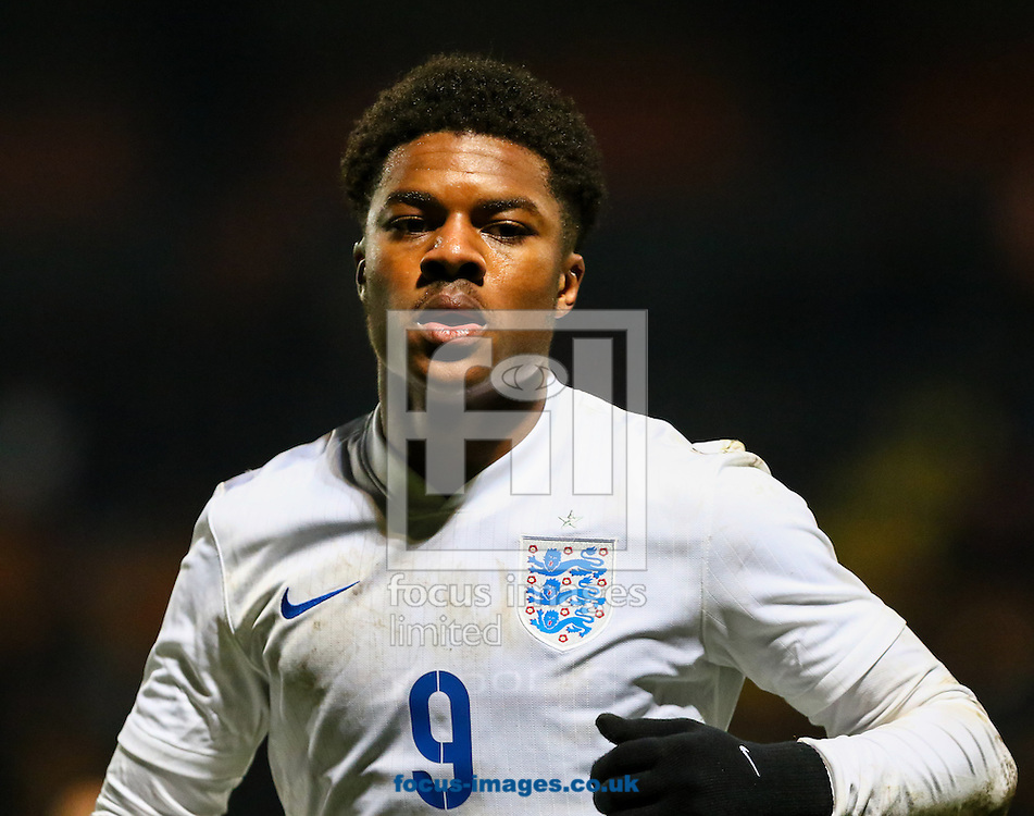 Chuba Akpom of England U20 during the International Friendly match at The Hive Stadium, Harrow<br /> Picture by David Horn/Focus Images Ltd +44 7545 970036<br /> 25/03/2015