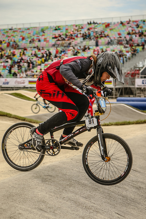 2018 UCI World Championships<br /> Baku, Azerbaijan<br /> 12 Girls #91 (ZAVINSKA Paula) LAT