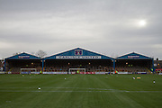 Brunton Park of Carlisle United during the Sky Bet League 2 match between Carlisle United and York City at Brunton Park, Carlisle, England on 23 January 2016. Photo by Craig McAllister.
