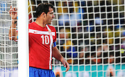 Dejan Stankovic (Serbia) during the 2010 FIFA World Cup South Africa Group D match between Serbia and Ghana at Loftus Versfeld Stadium on June 13, 2010 in Pretoria, South Africa.