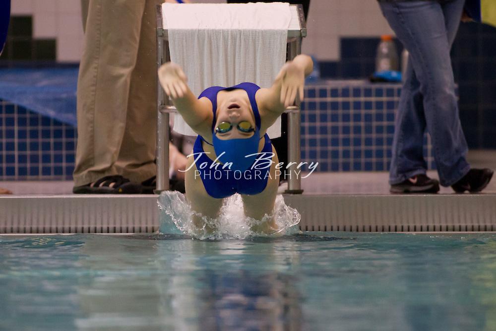 January/14/12:  MCHS Swim vs George Mason and Strasburg at Manassas Park.  ..Event-18  Girls 100 Yard Backstroke.Lane 3  Christine Mullen.Lane 6  Katey Walters