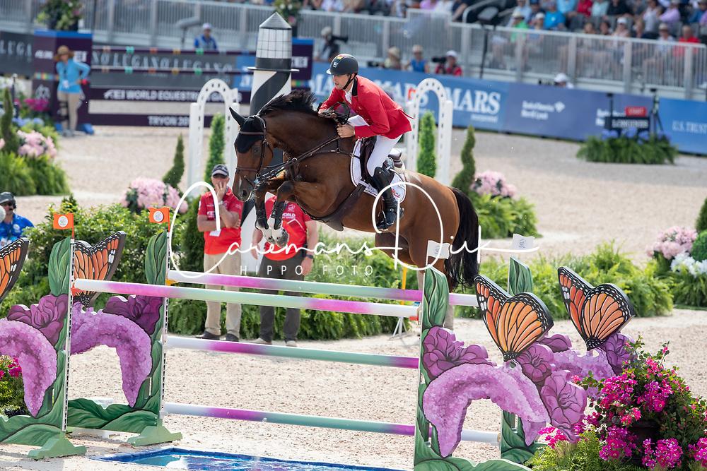 Devos Pieter, BEL, Espoir<br /> World Equestrian Games - Tryon 2018<br /> © Hippo Foto - Dirk Caremans<br /> 20/09/2018