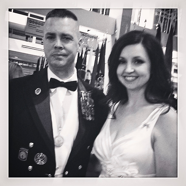 President Obama's Commander in Chief's Ball for his second inauguration. Active duty and vetrans enjoy themselves including medal of honor recipients.  #instagram #iphoneography #pic2013 #inaug2013