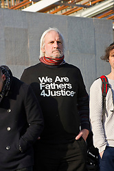 Pictured: David Albury<br /> Members of Father's For Justice gathered outside the Scottish Parliament todayto highlight increased suicide risk. A new campaign, Forgotten Fathers, has been set up to encourage fathers to talk more about their love for their children after research found 23% of Scots believe that mothers love their children more than fathers.<br /> <br /> <br /> <br /> Ger Harley | EEm 14 February 2017