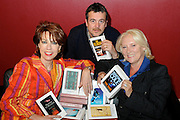 23.APRIL.2012. LONDON<br /> <br /> KATHY LETTE, MARTINA COLE AND MARK BILLINGHAM ATTEND WORLD BOOK NIGHT, SOUTHBANK, LONDON <br /> <br /> BYLINE: EDBIMAGEARCHIVE.COM<br /> <br /> *THIS IMAGE IS STRICTLY FOR UK NEWSPAPERS AND MAGAZINES ONLY*<br /> *FOR WORLD WIDE SALES AND WEB USE PLEASE CONTACT EDBIMAGEARCHIVE - 0208 954 5968*