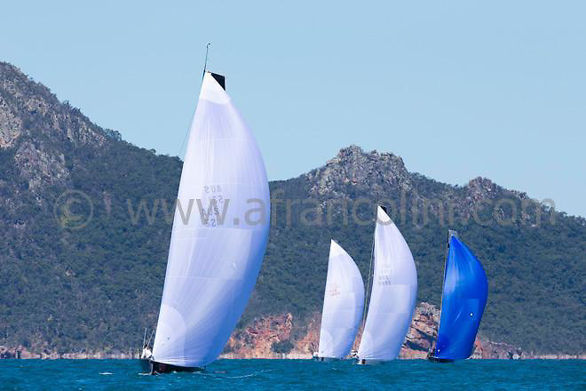 SAILING - Audi Hamilton Island Race Week 2014 - 16-23/08/2014<br />photo: Andrea Francolini/AUDI<br /><br />Caption: MC38 fleet<br /><br />Restrictions: no advertising and not third party promotional material.<br />Mandatory Credit