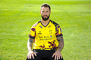 Nat West T20 Blask kit portrait of Peter Trego during the Somerset County Cricket Club PhotoCall 2017 at the Cooper Associates County Ground, Taunton, United Kingdom on 5 April 2017. Photo by Graham Hunt.