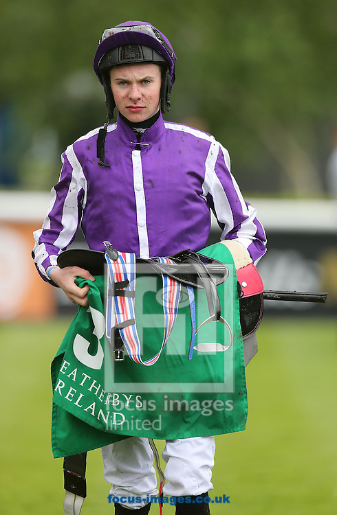Joseph O'Brien at the Curragh, Newbridge<br /> Picture by Lorraine O'Sullivan/Focus Images Ltd +353 872341584<br /> 24/05/2014