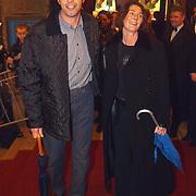 Premiere de Tweeling Amsterdam, Jan Douwe Kroeske en vrouw Hilde Bruggink