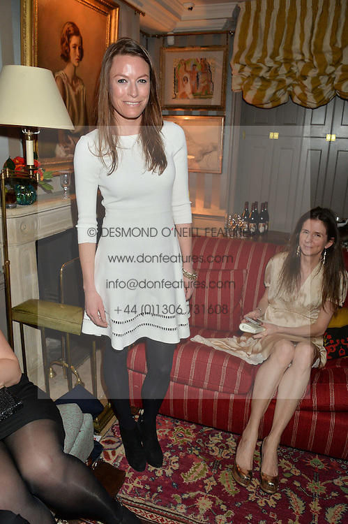 JECCA CRAIG at a private screening of 'A Postcard From Istanbul' directed by John Malkovich In Collaboration With St. Regis Hotels & Resorts held at 5 Hertford Street, London on 3rd March 2015